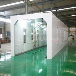 机车防水试验室